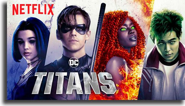 Titãs séries mais populares na Netflix