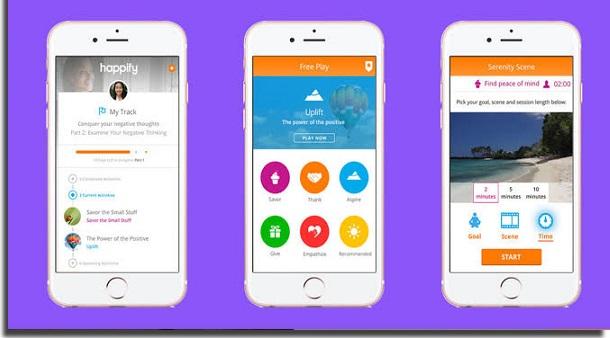 aplicativos para treinar a memória happify