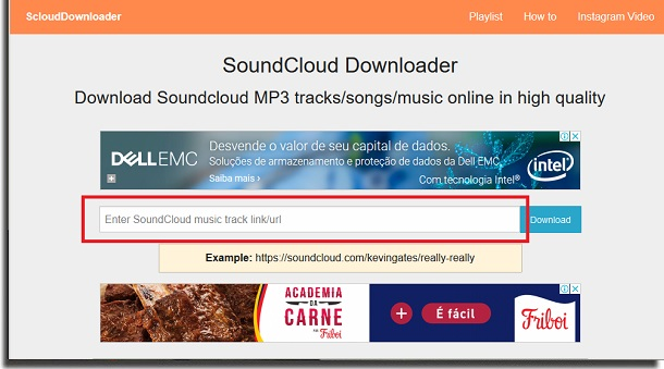 SoundCloud Downloader field download music from SoundCloud