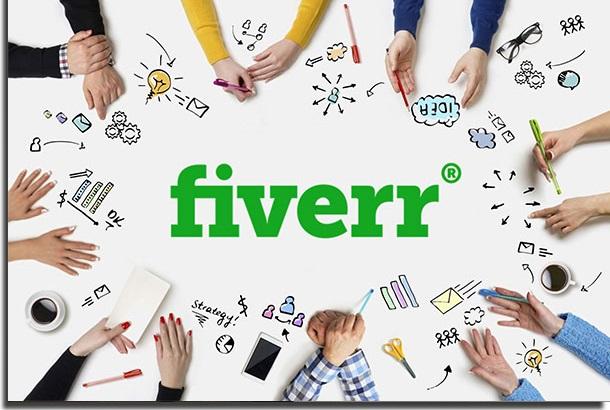 formas de ganhar dinheiro na internet fiverr