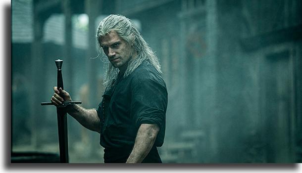 The Witcher (EUA) séries internacionais da Netflix mais vistas no Brasil