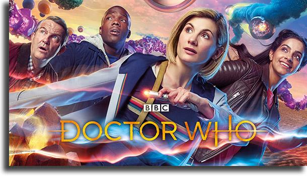 Doctor Who melhores séries para fazer maratona