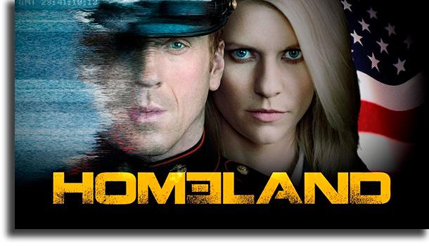 Homeland mejores series de espías