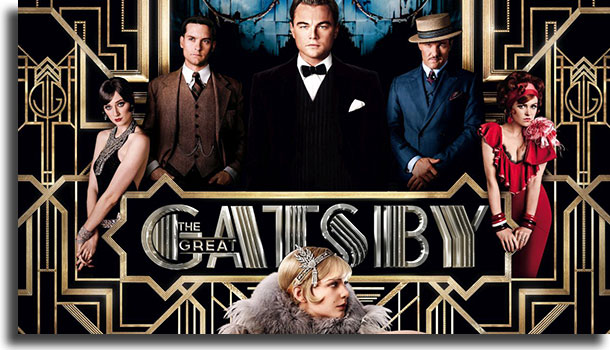 O Grande Gatsby melhores filmes Netflix de drama