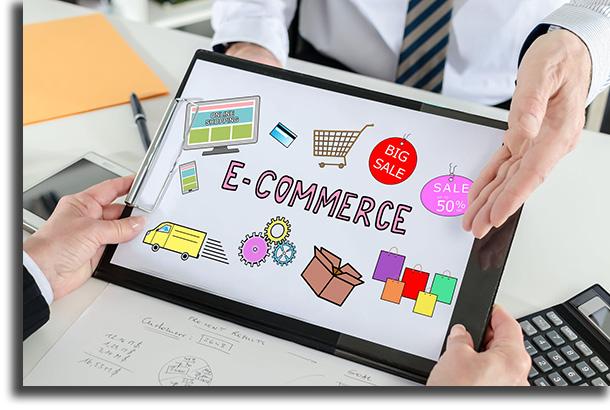 Crie sua loja online renda extra na internet