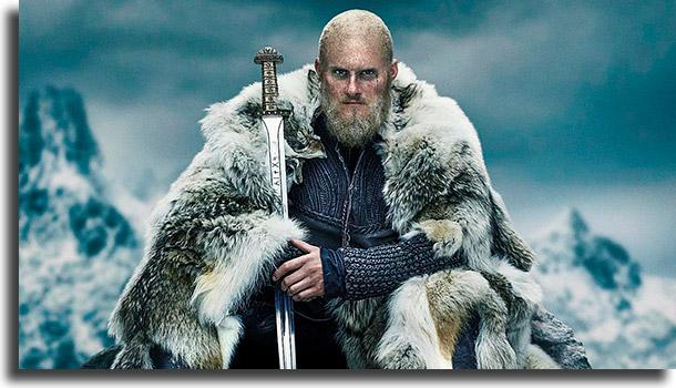 Vikings melhores séries para fazer maratona