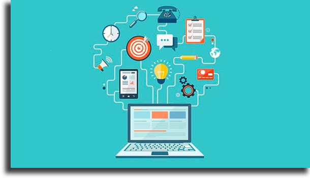 Ensinar cursos online renda extra na internet