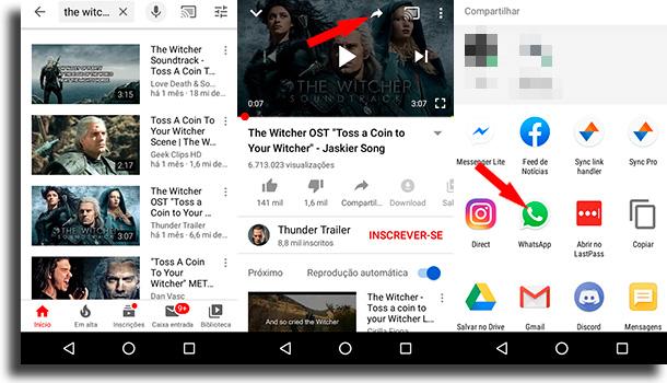 Como botar vídeos do YouTube?
