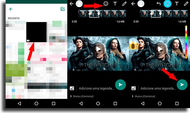 Como colocar vídeos de sua galeria? 2 como colocar vídeos no status de WhatsApp