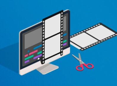 Destaque aplicativo para edição de vídeo fácil de usar