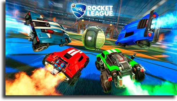 Rocket League melhores jogos com multiplayer local