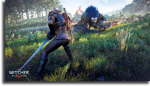 The Witcher 3: Wild Hunt melhores jogos offline para jogar no PC