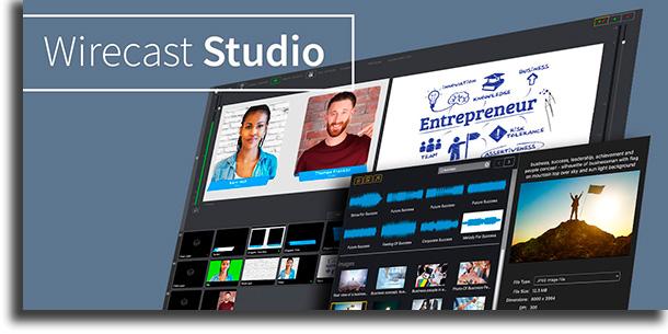 Wirecast melhores aplicativos para fazer lives