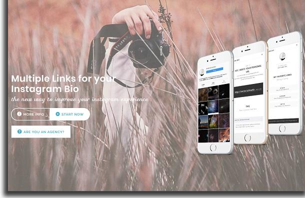 Lnk.Bio Instagram bio link tools