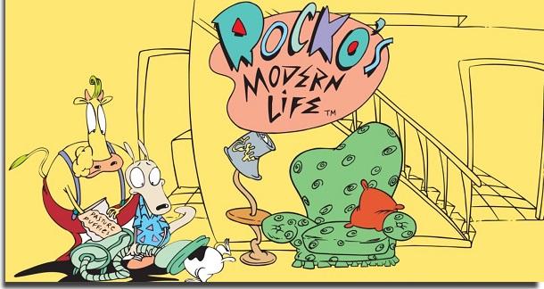 melhores séries de animação rocko