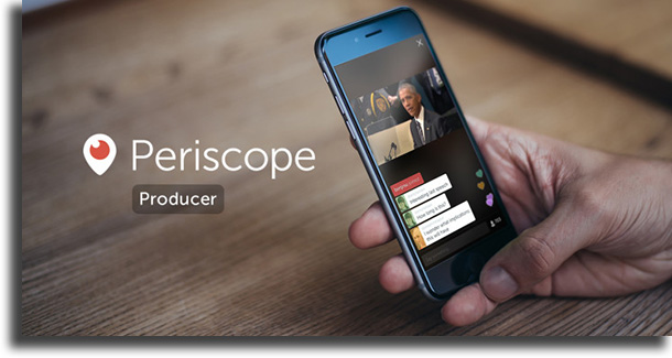 Periscope hacer lives