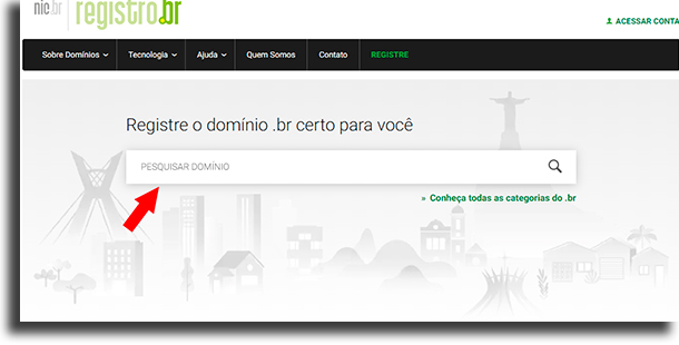 registro.br Como criar um blog