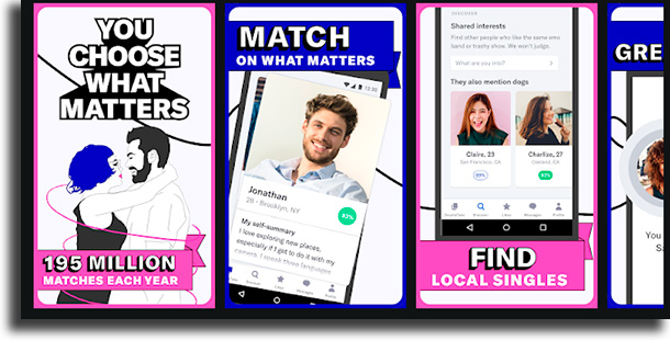OkCupid apps de relacionamento para se distrair durante a quarentena