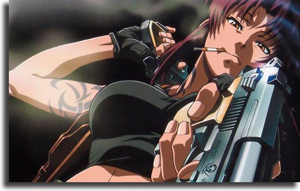 Black Lagoon animes para quem pensa que não gosta de animes