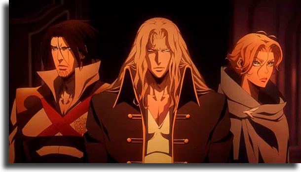 Castlevania animes para quem pensa que não gosta de animes