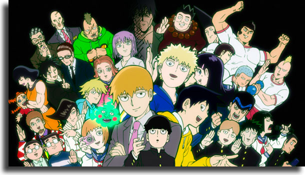 Mob Psycho 100 animes para quem pensa que não gosta de animes