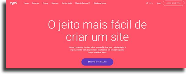 Criar conta 1 Como criar um site de vendas