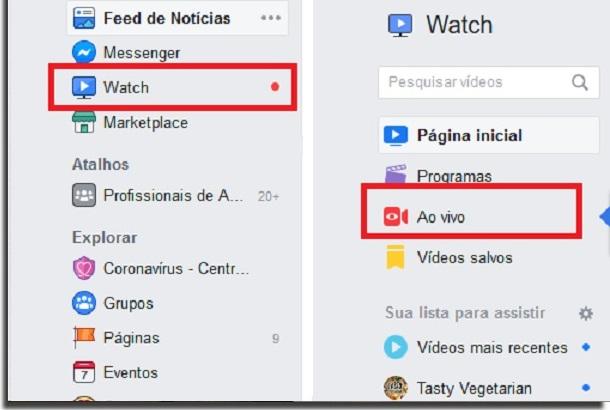 assistir shows ao vivo nas redes sociais facebook