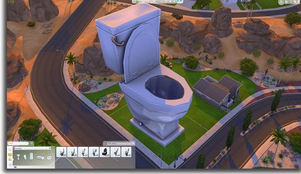 cambiar el tamaño de los objetos en Los Sims 4