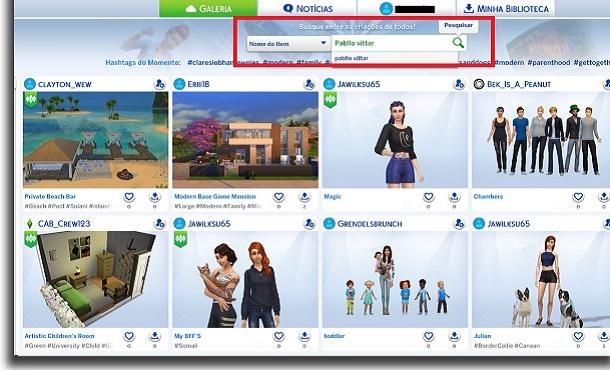 pabllo Vittar no The Sims 4 pesquisa
