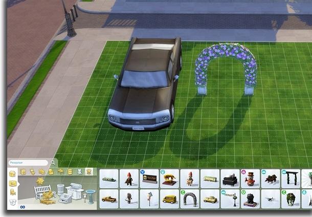 aumentar objetos cambiar el tamaño de los objetos en Los Sims 4