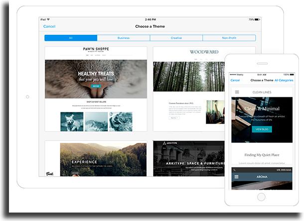Weebly melhores plataformas para criar sites