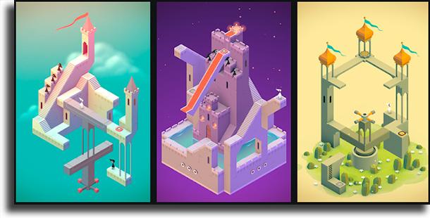 Monument Valley apps para treinar o seu cérebro