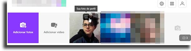 Como fazer isso pelo computador alterar a sua foto de perfil no Badoo
