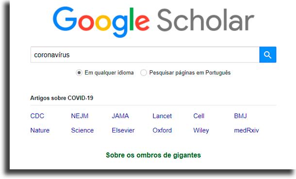 Como usar Como encontrar os melhores artigos no Google Acadêmico
