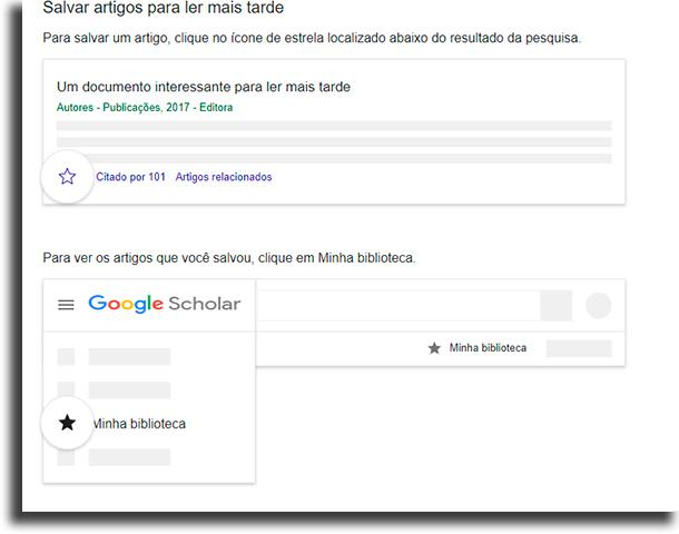 Minha biblioteca Como fazer pesquisa no Google Acadêmico?