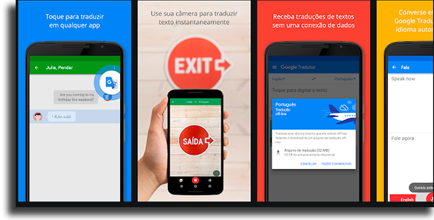 Google Tradutor melhores apps de tradutores