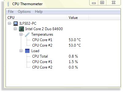 temperatura de la PC