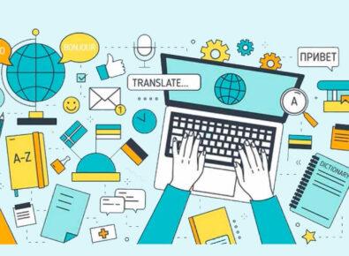 Destaque apps de tradutores de voz