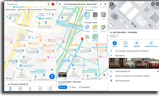 Usar o Street View no Google Maps como usar o Street View no celular?