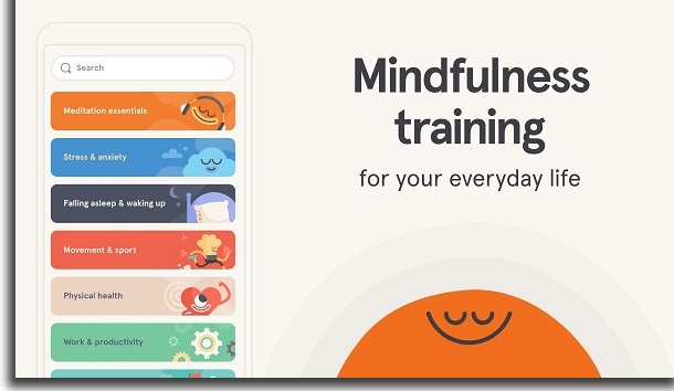 apps para combater a ansiedade headspace