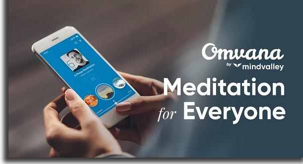 apps para combater a ansiedade omvana