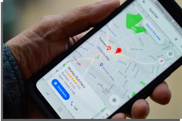google maps no Relógio inteligente