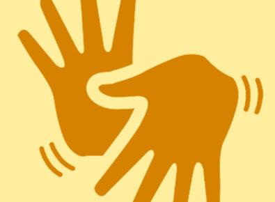 Destaque tradutor para língua brasileira de sinais