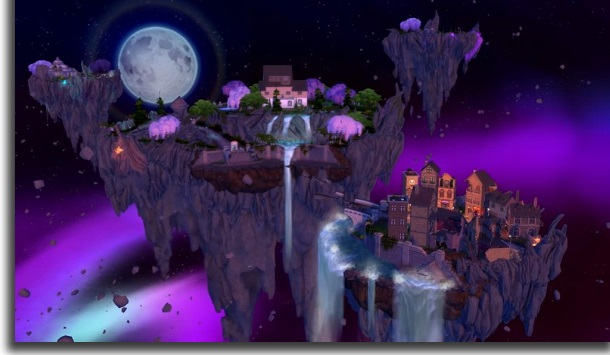 the sims 4 reino da magia portal