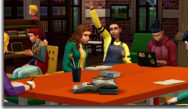 Paying for studies The Sims 4: Discover University