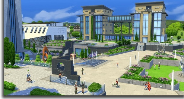 Universities The Sims 4: Discover University