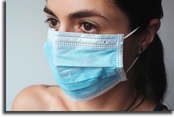 Use máscara cuidados a ter quando sair na rua
