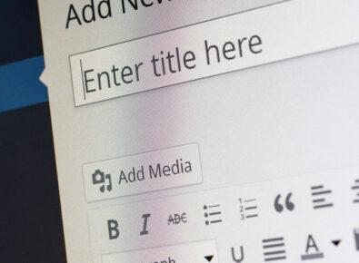 Destaque Como criar um site com WordPress