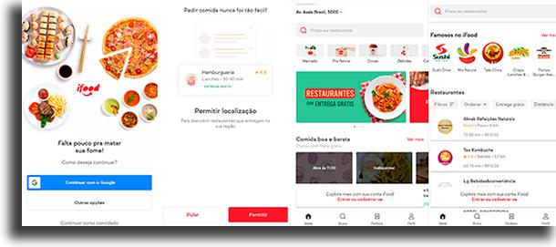 como fazer pedido no app iFood