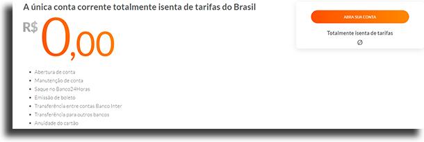 Banco Inter melhores bancos digitais do mercado